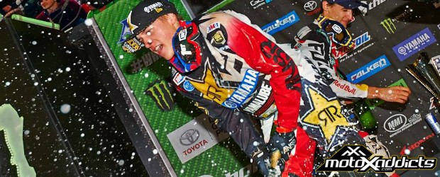 Jeremy talks about his win at the Atlanta 1 SX
