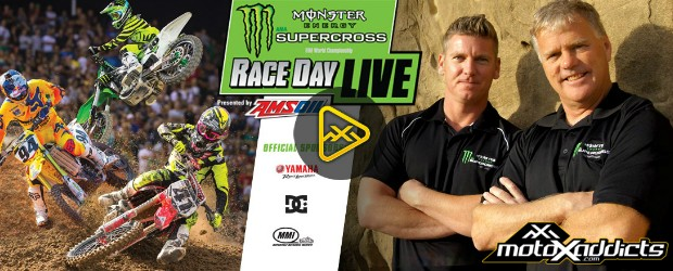 Watch LIVE Supercross, LIVE Timing & Bench-Race with Fans