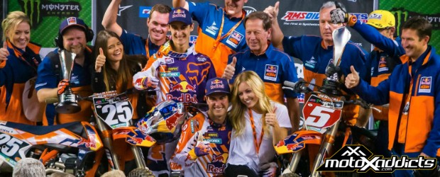 Updated 450SX, 250SX East and 250SX West Championship Standings