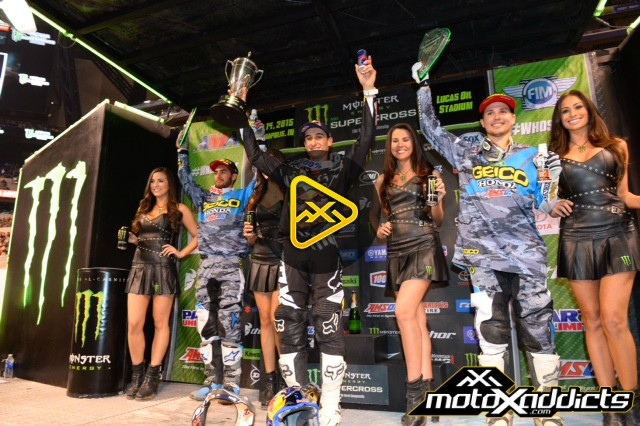 250SX Podium Interviews – 2015 Indianapolis Supercross
