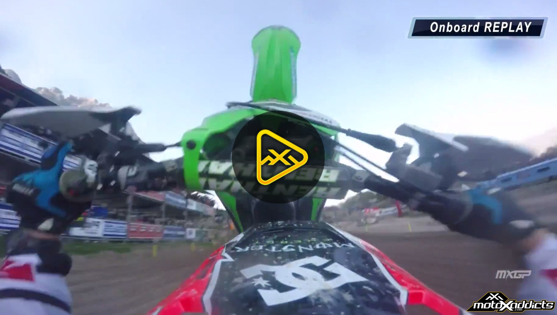 Helmet Cam: Ryan Villopoto's Loopout Crash – 2015 MXGP of Trentino