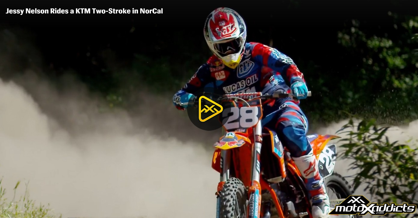 Jessy Nelson Ripping on a 150cc Two-Stroke