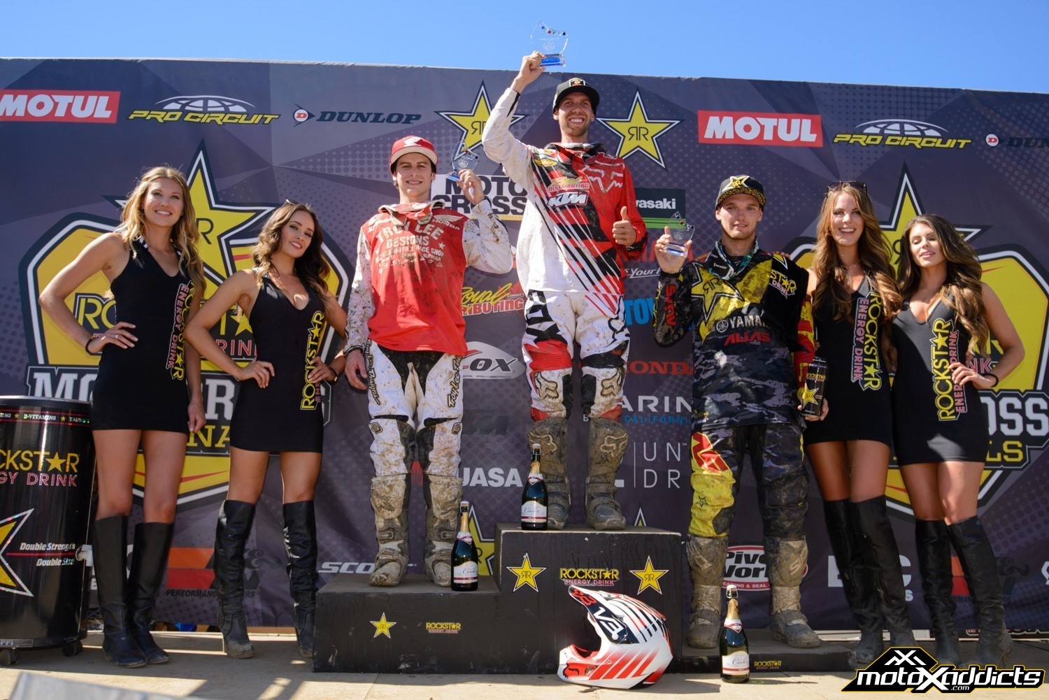 Defending MX2 Champion Kaven Benoit took over the MX2 Championship points from Jimmy Decotis with his 1-1 sweep at round 2.