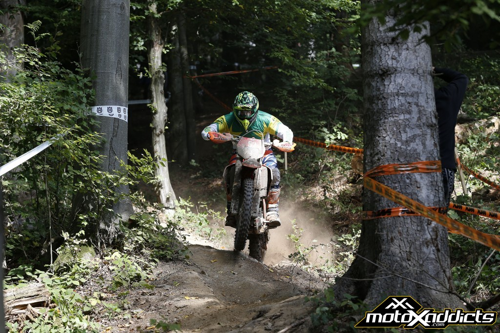 The Australian's continue to show the world the fastest way through the trees. Photo by: Future7Media