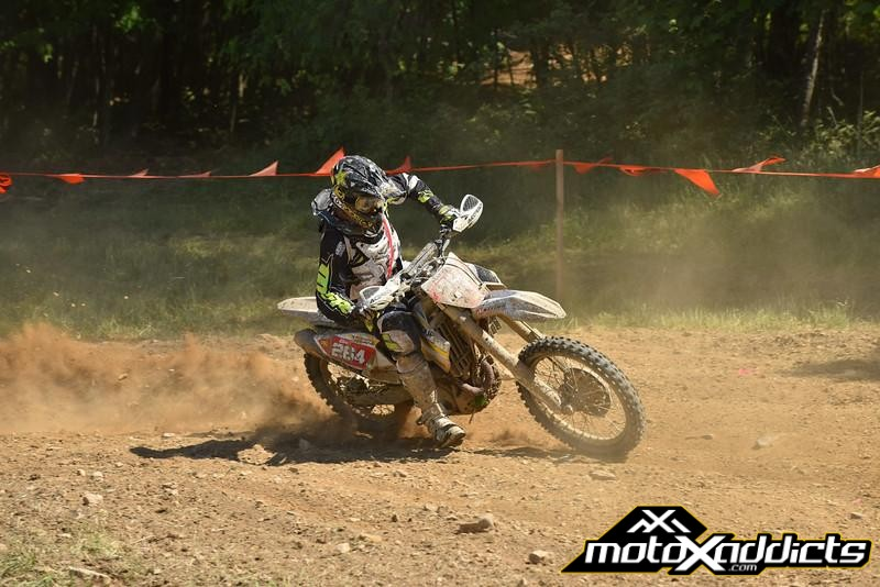 Ryan Sipes will be looking to earn his first GNCC win this weekend.Photo: Ken Hill
