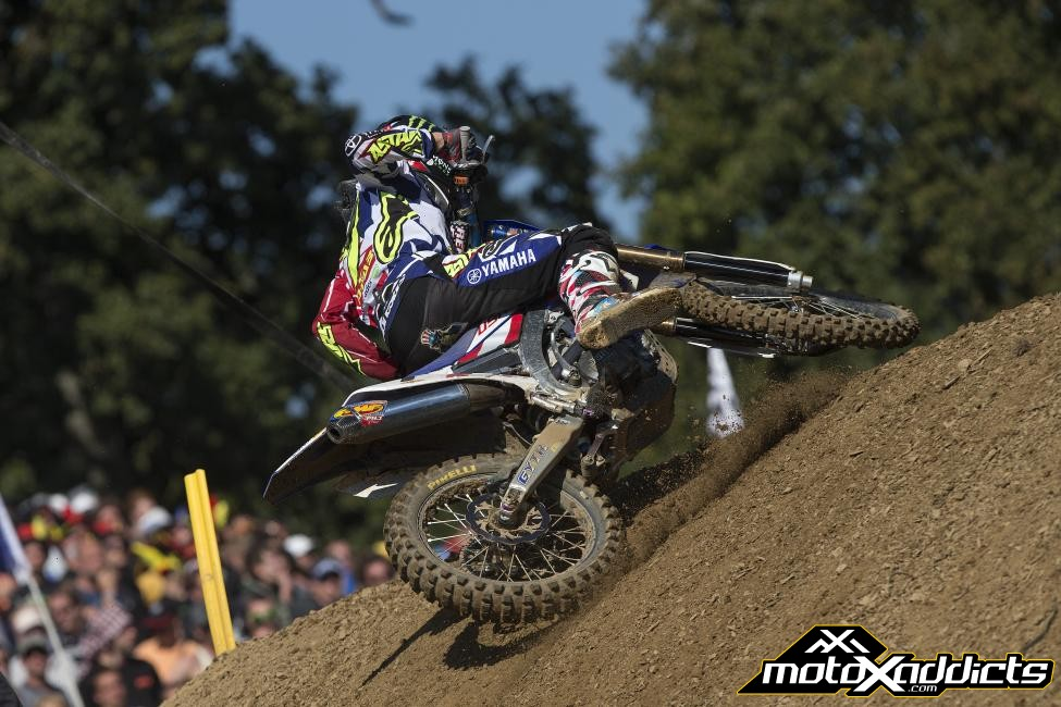 Team U.S. captain, Justin Barcia rode at the front of the field in each of his two motos, earning 1-3 moto scores to ultimately claim overall honors in the MXGP. Photo: Ray Archer/Racer X Illustrated