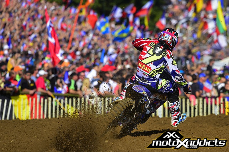 Justin Barcia took the win in  Moto 1 to give Team USA the advantage after the opening moto.
