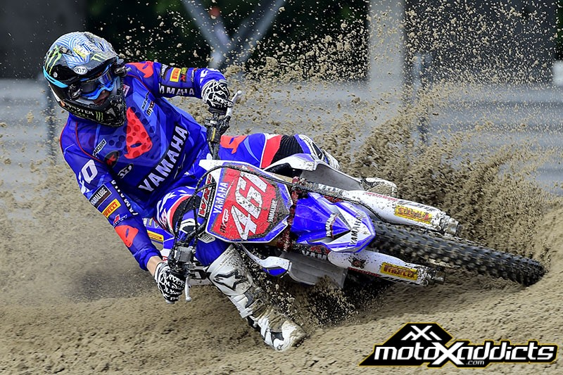 Romain Febvre already won the MXGP World Championship and will be happy to close out his dream rookie year with a USGP win.