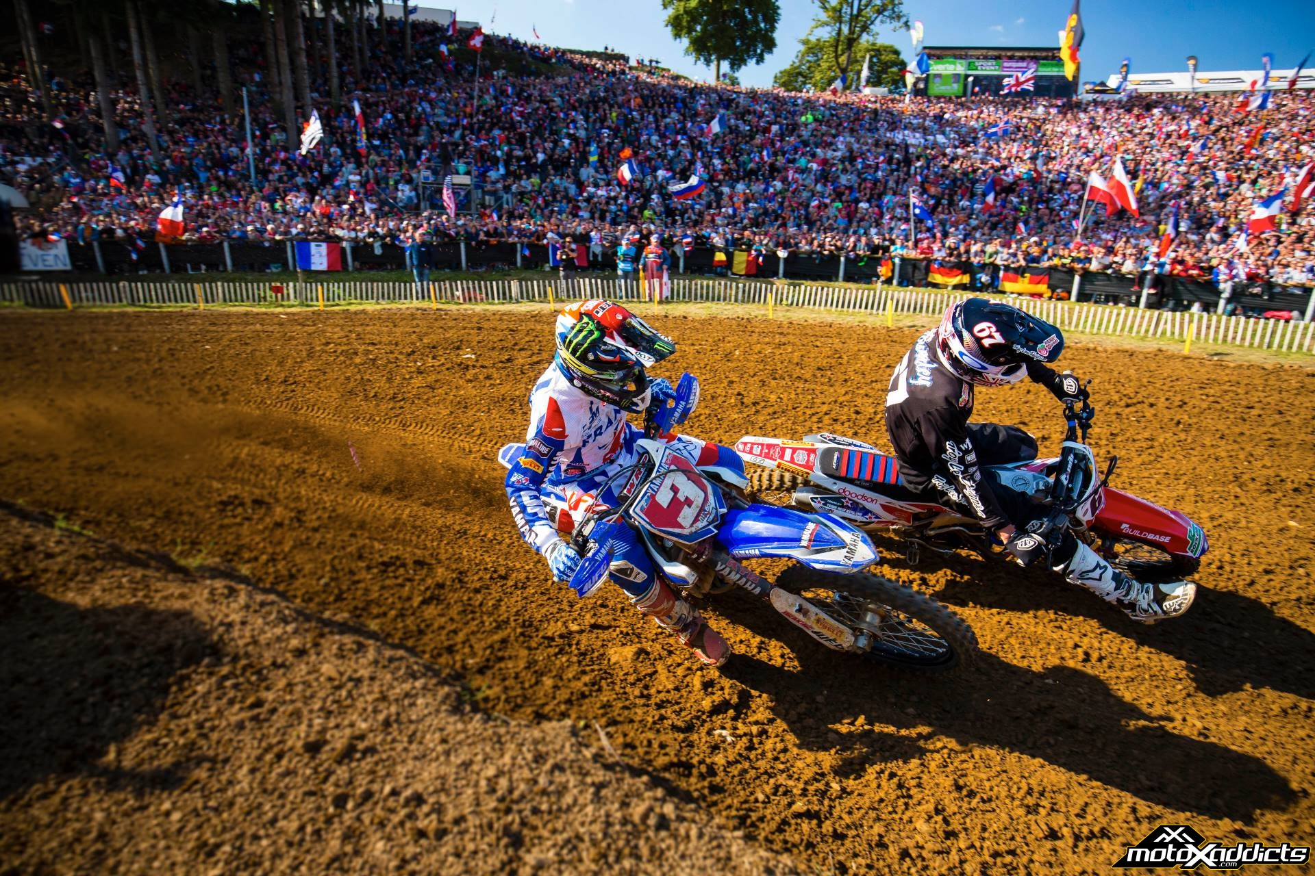 2015 MXoN - Romain Febve, Ben Townley