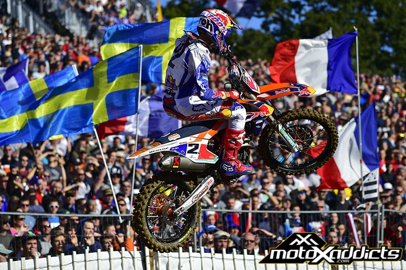 Marvin Musquin made it two wins in two for the home team. Photo by: MXGP.com