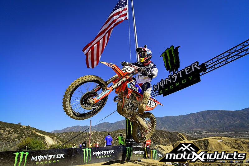 Jessy Nelson was the class of the MX2 field at the USGP. Photo by: MXGP.com
