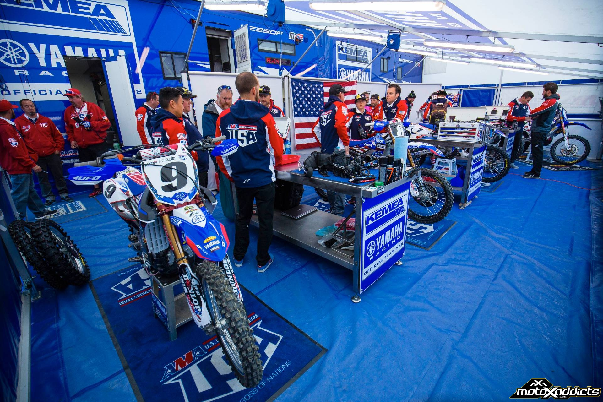 2015 MXoN - Team USA Paddock