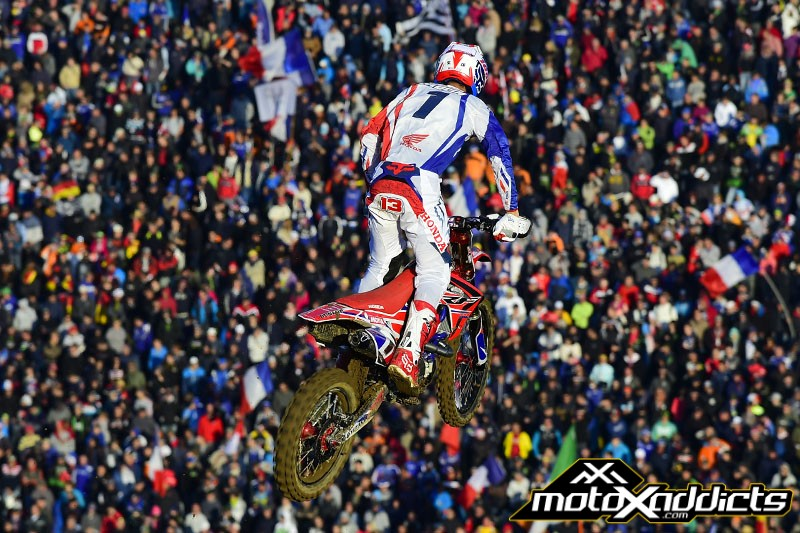 It was Musquin and Febvre that won the MX2 and Open Class overalls, but Gautier Paulin's gritty performance on an injured knee was enough to help France get the W.