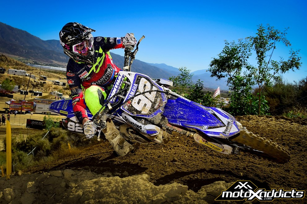 Guillod has a beautiful style on the Yamaha. Photo by: Yamaha Racing