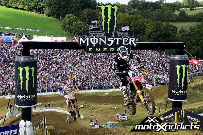 Ben Townley was probably the surprise of the day in qualifying. Photo by: MXGP.com