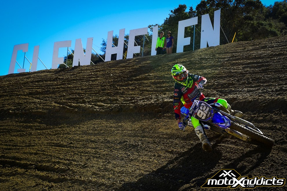 Every GP regular we talked to loved the preparation of the Glen Helen circuit. Photo by: Yamaha Racing