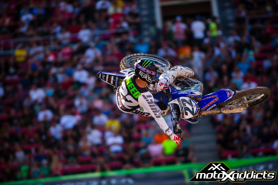 What Chad reed amateur career