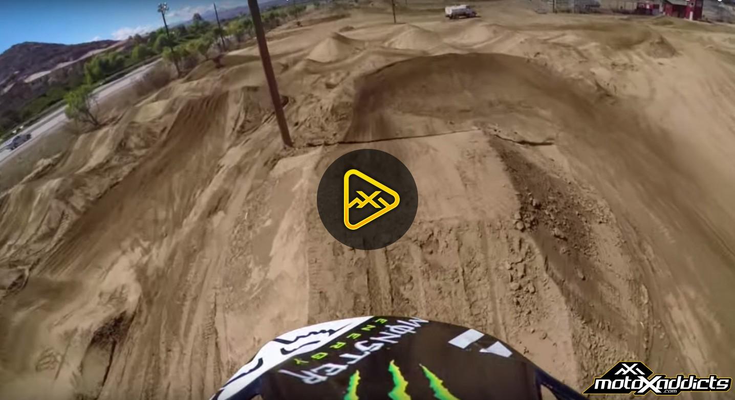 Helmet Cam: Josh Hansen Testing for 2016 Supercross