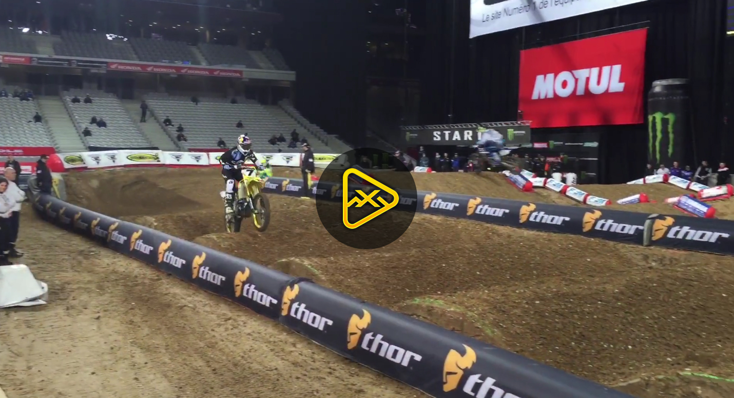 motoxaddicts 2015 lille bercy supercross qualifying highlights. Black Bedroom Furniture Sets. Home Design Ideas