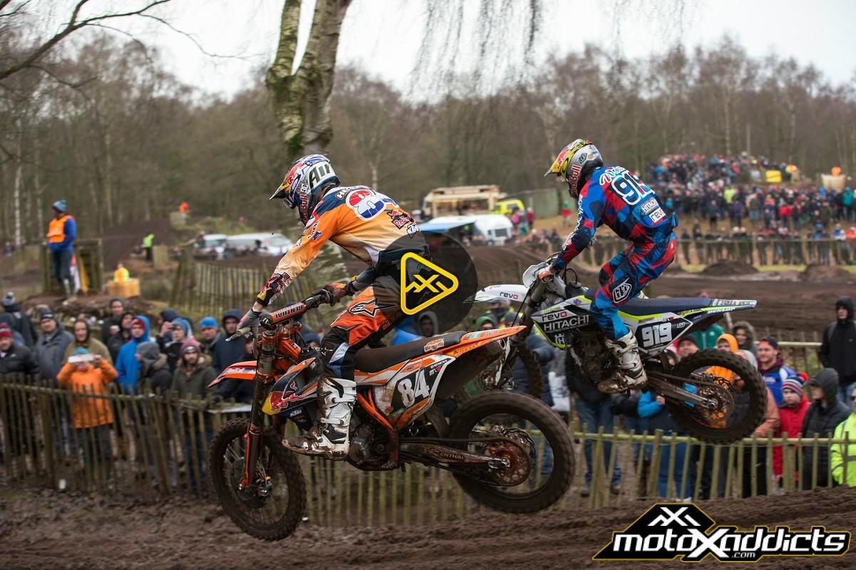 2016 Hawkstone International Motocross Highlights