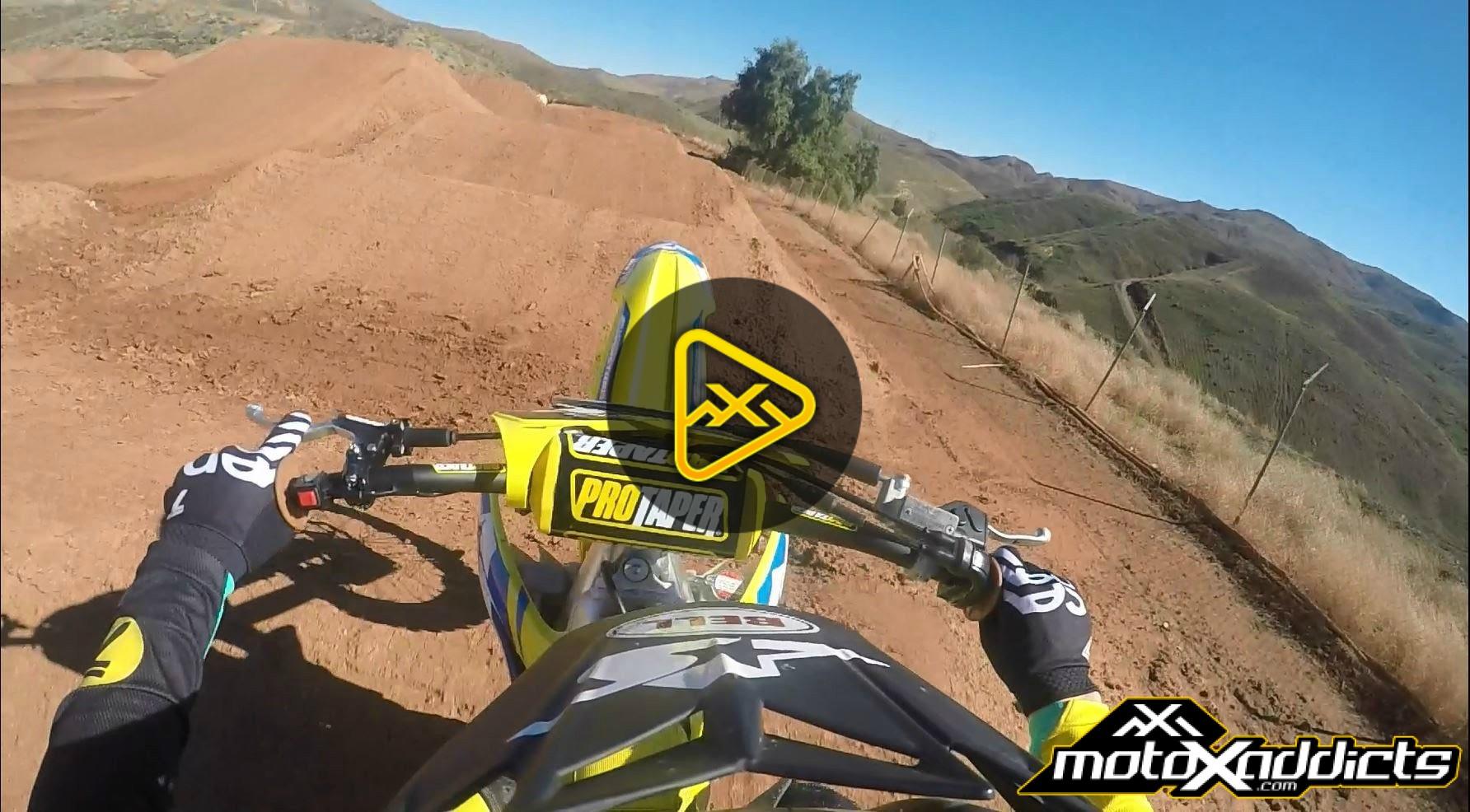 Helmet Cam: Suzuki Test Track Lap With Jimmy Albertson