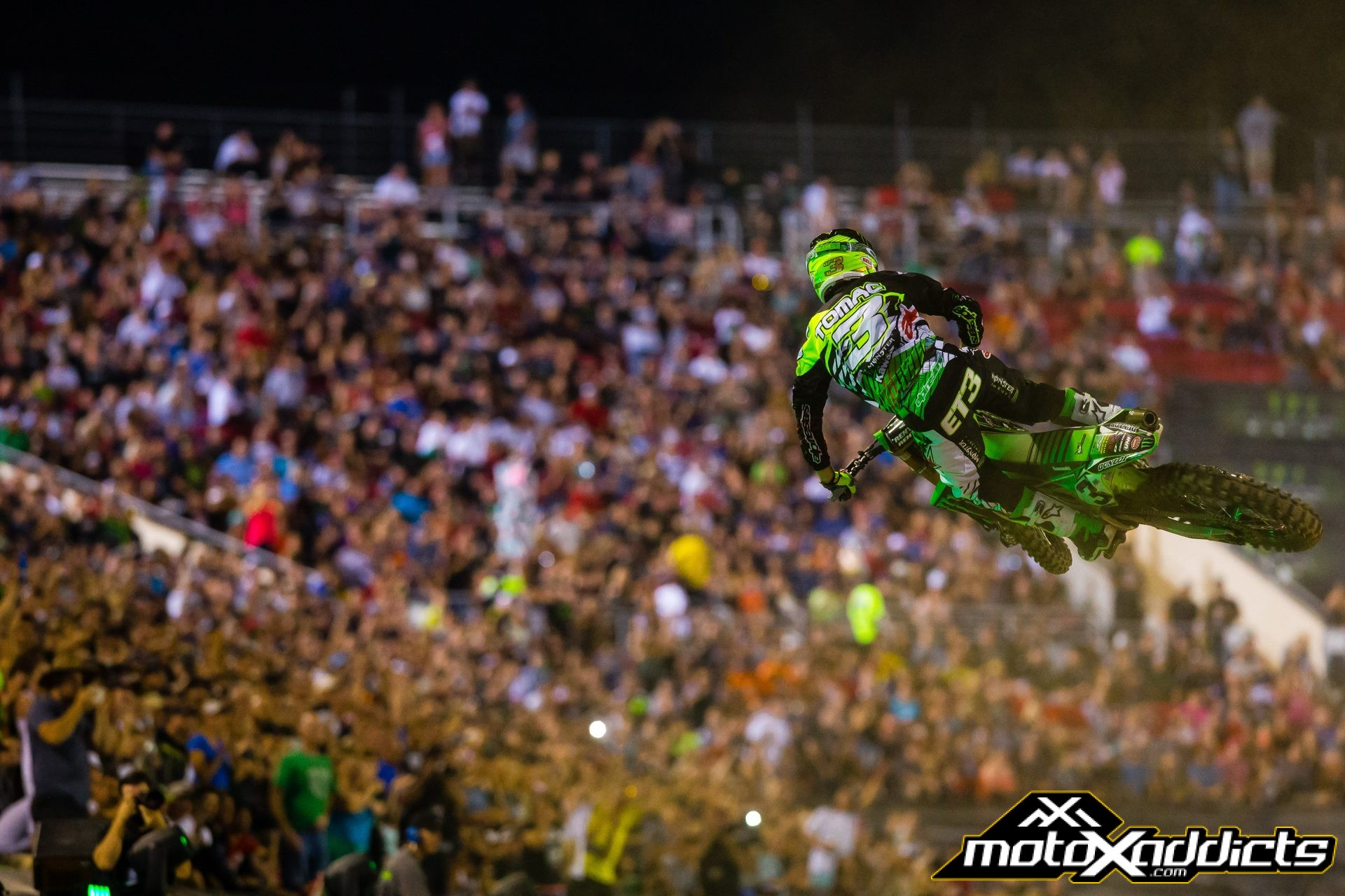 Eli Tomac is one of six different riders to win the Monster Energy Cup. Nobody has won the event twice yet. Photo by: Hoppenworld