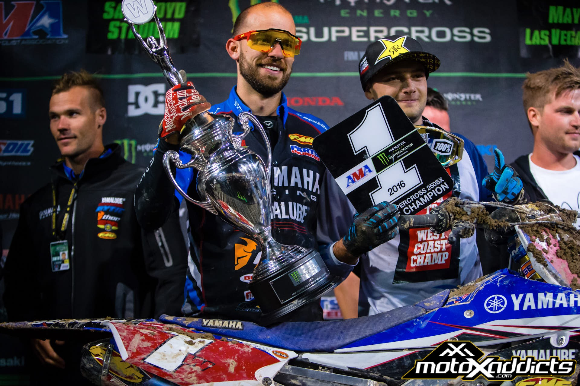Cooper Webb capped off his 250SX career with back-to-back Championships in the west. He is one of six riders to win two Western Regional Championships. Photo by: Hoppenworld