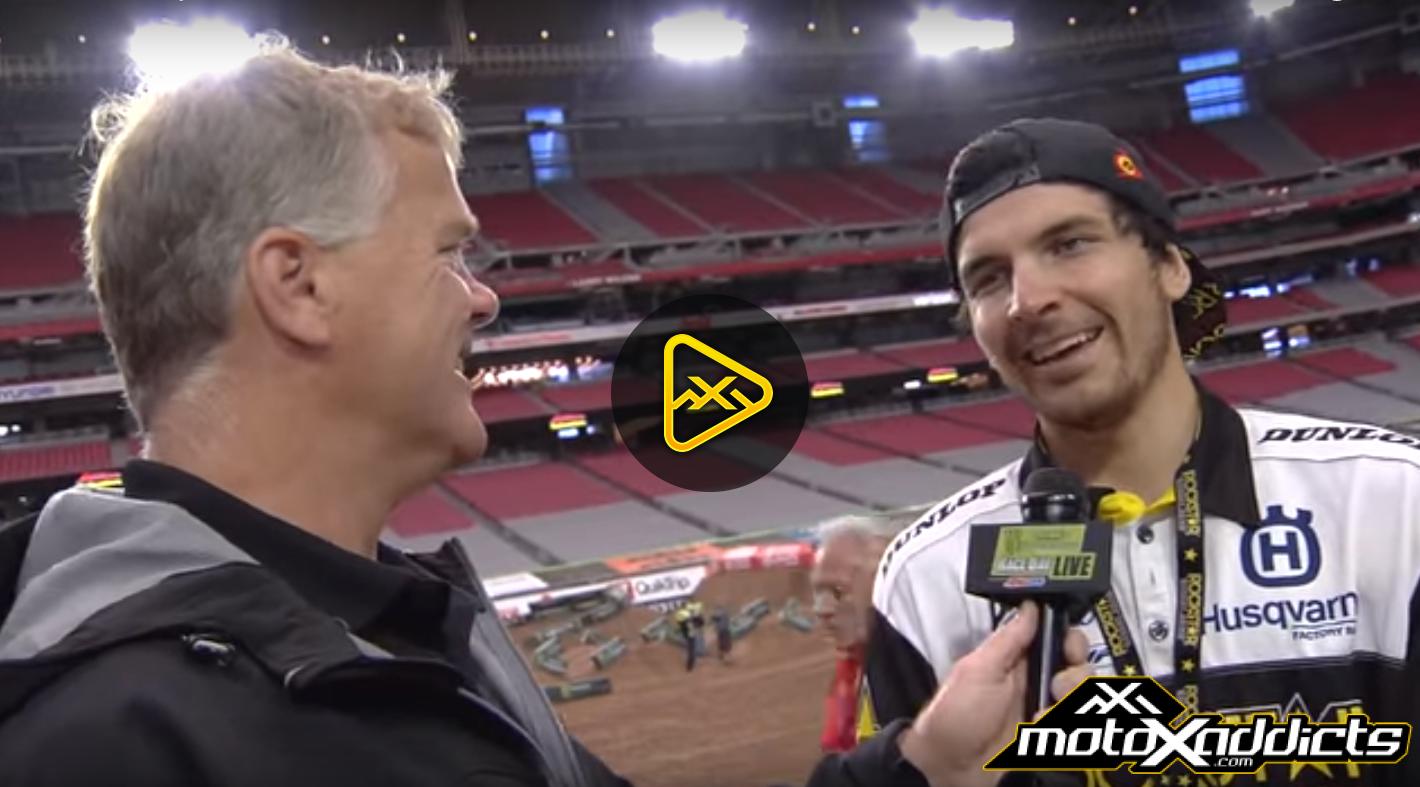 Jason Anderson Interview – 2016 Glendale (Phoenix) SX