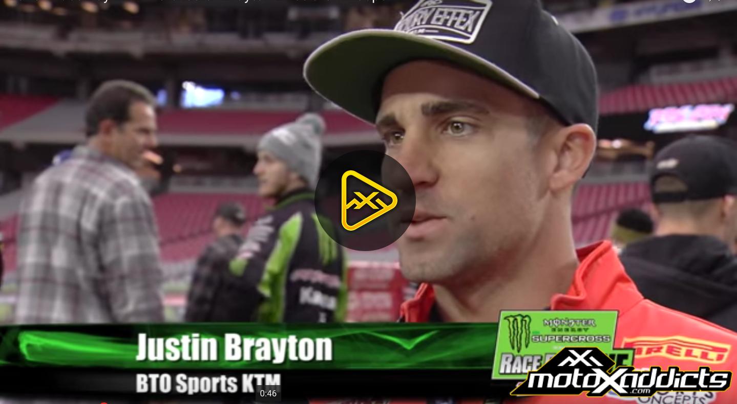 Justin Brayton Interview – 2016 Glendale (Phoenix) SX