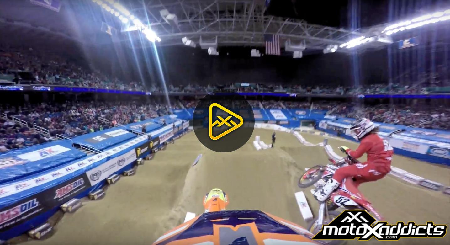 Helmet Cam: Ben Lamay VS Travis Sewell  – 2016 Greensboro AX