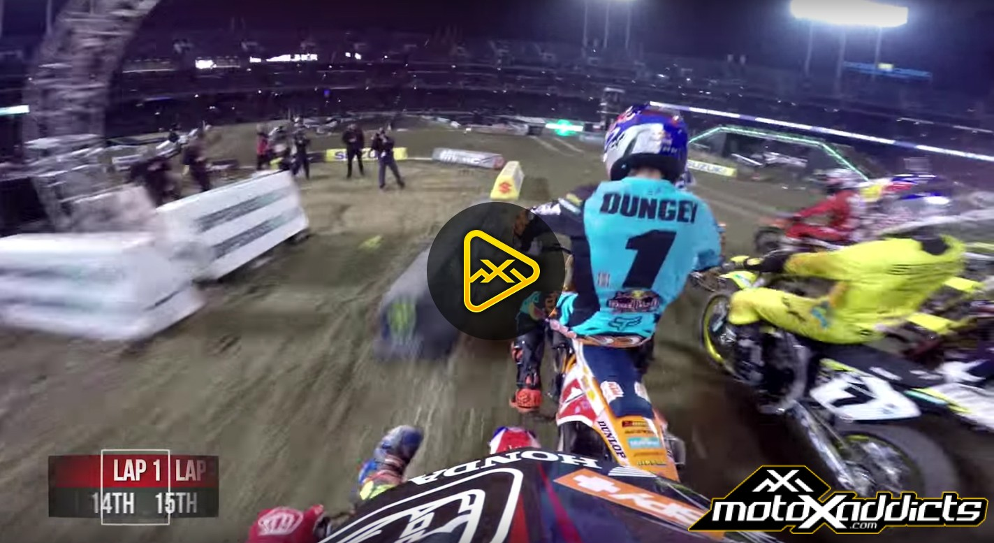 Helmet Cam: Cole Seely's Main Event at 2016 Oakland SX