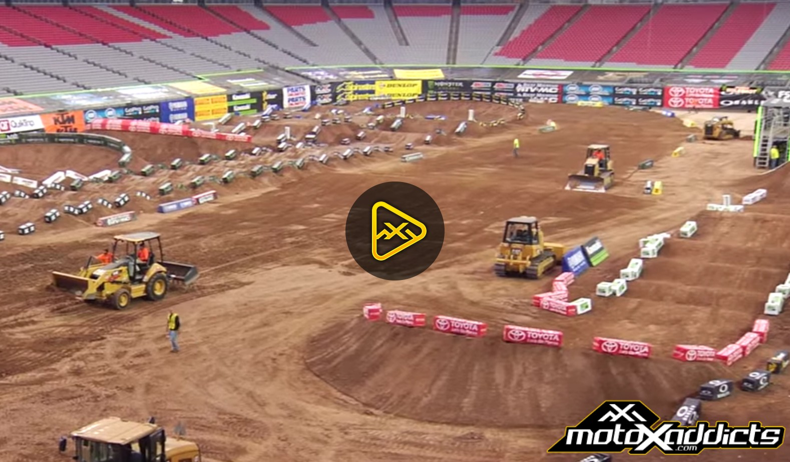 Inside Look at the 2016 San Diego 2 SX Track