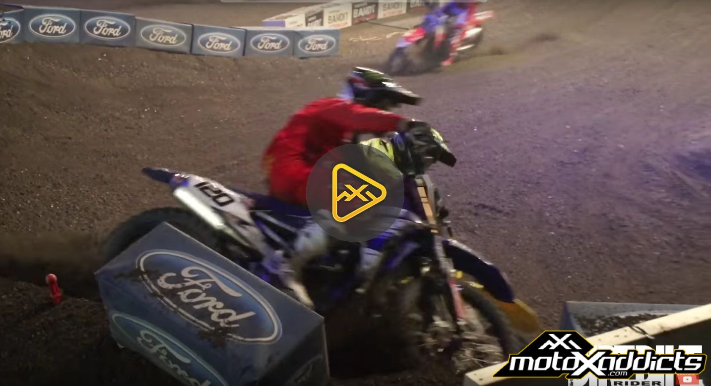 Thomas Ramette and Cedric Soubeyras Get DIRTY at UK Arenacross