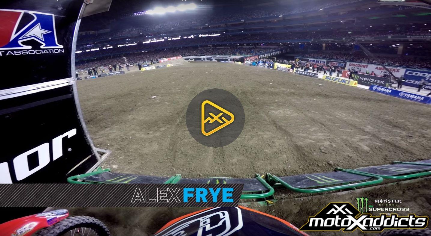 Helmet Cam: Alex Frye at 2016 Toronto Supercross