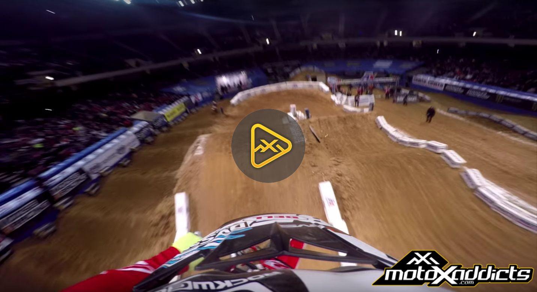 Helmet Cam: Ben Lamay at Birmingham Arenacross