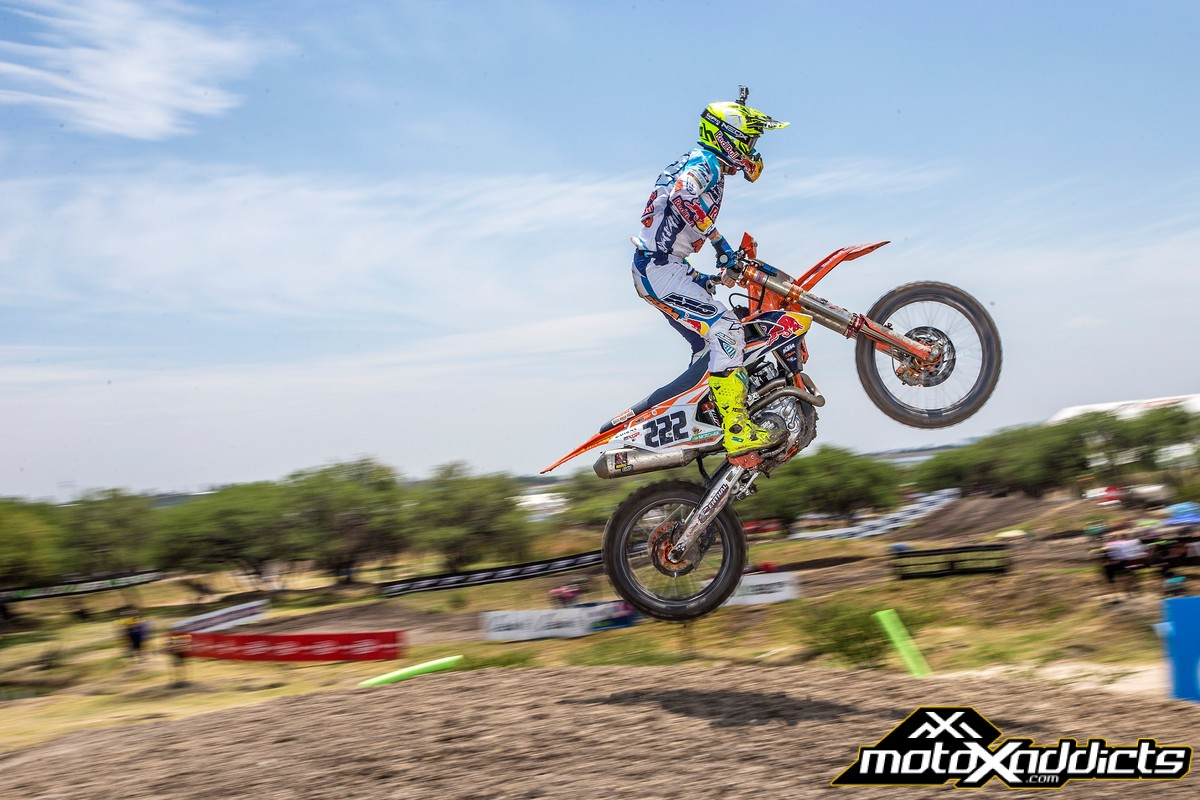Antonio Cairoli has not found the pace of the youngsters yet in 2016. The former Champ is 48 points down after five rounds. Photo by: JP Acevedo