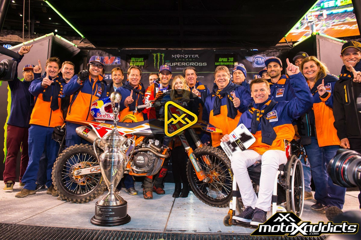 2016 East Rutherford SX Official Post-Show