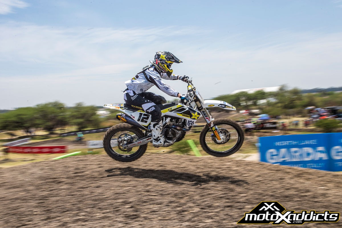 Max Nagl finally fought his way back to the podium in '16. Photo by: JP Acevedo