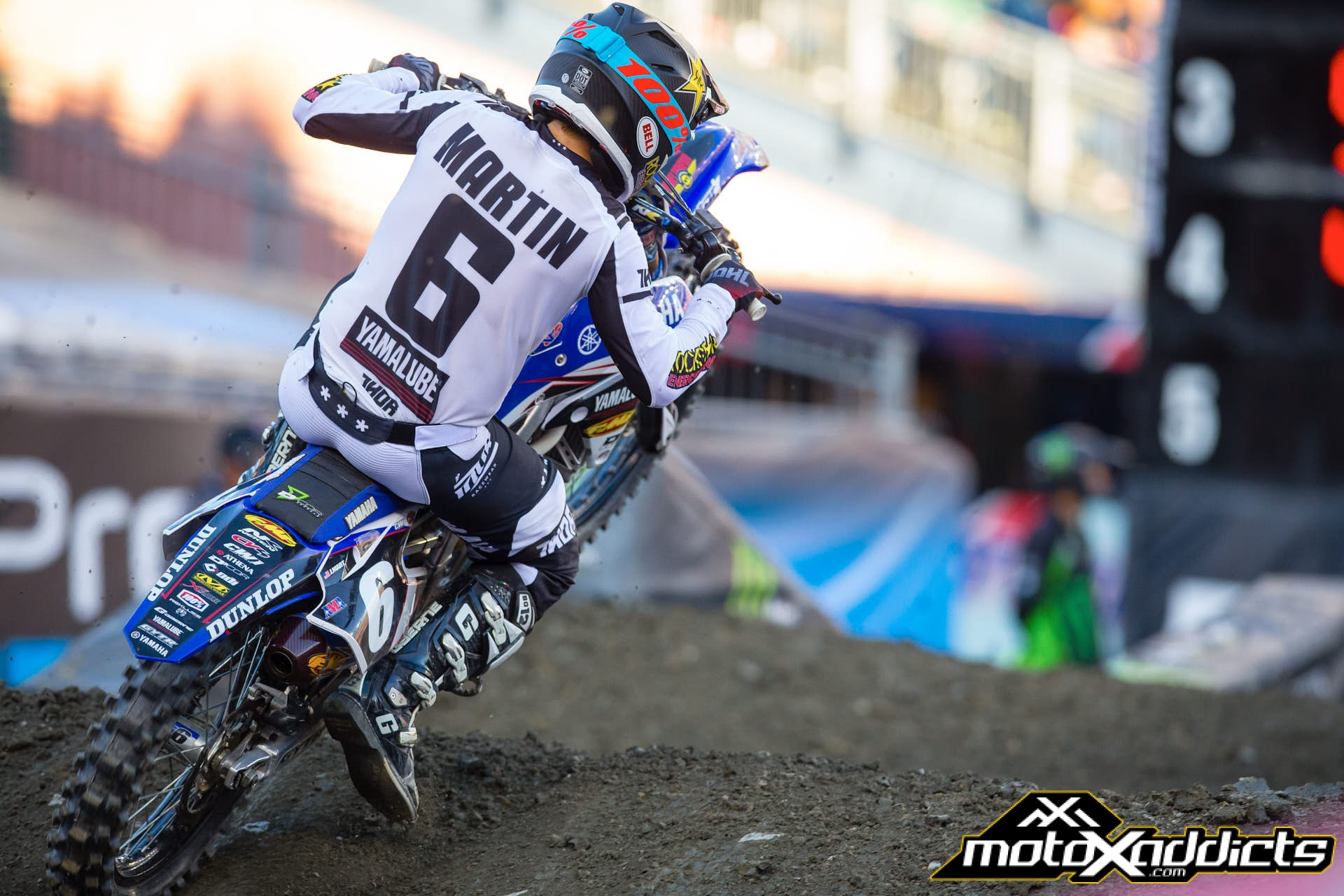 Martin has been on top of his Supercross game over the last two weekends.
