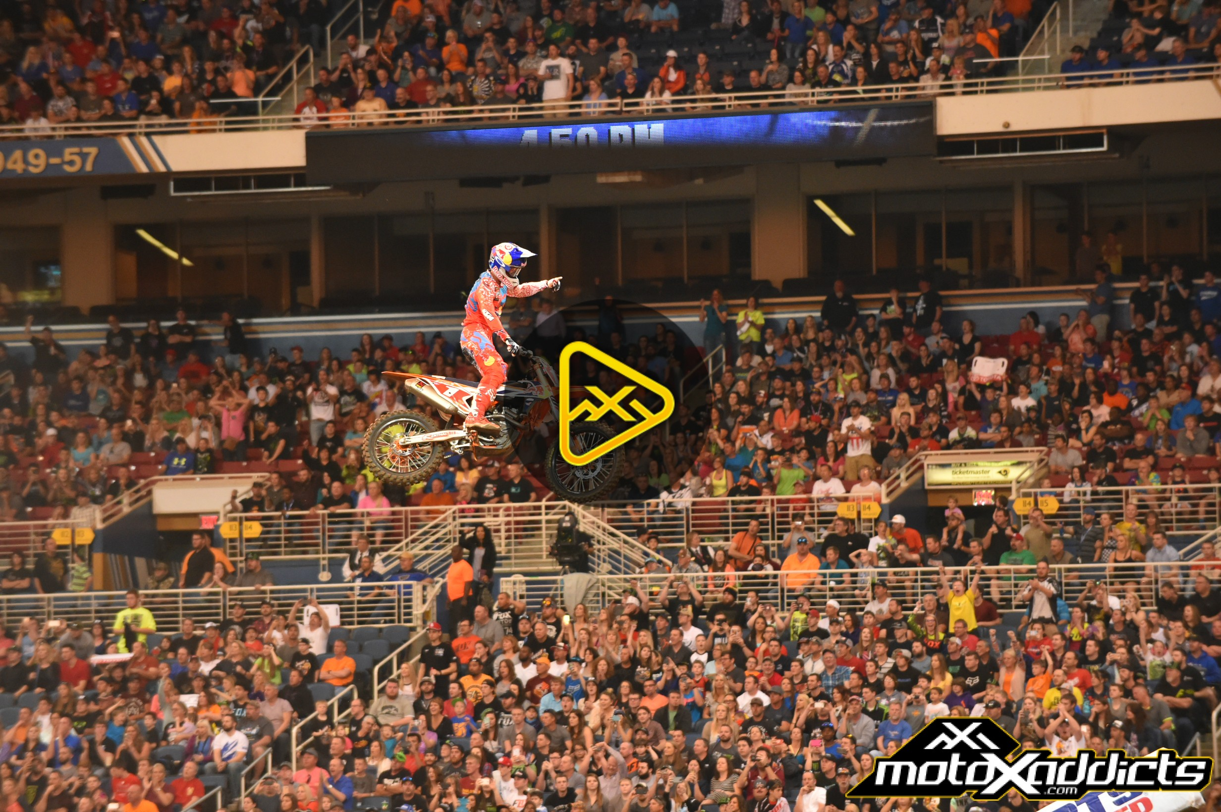 Watch 2016 St Louis Supercross in Full – And Every Other Round