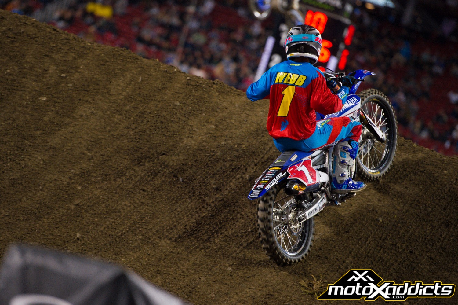 With a big crash while training the week before Santa Clara, Cooper Webb showed he is a clutch performer with the win.