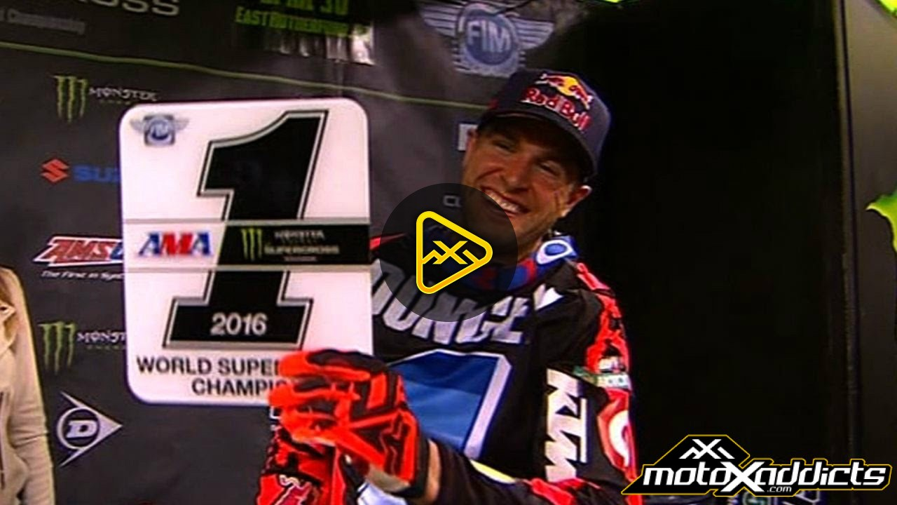 Ryan Dungey Clinches His Third 450SX Supercross Championship