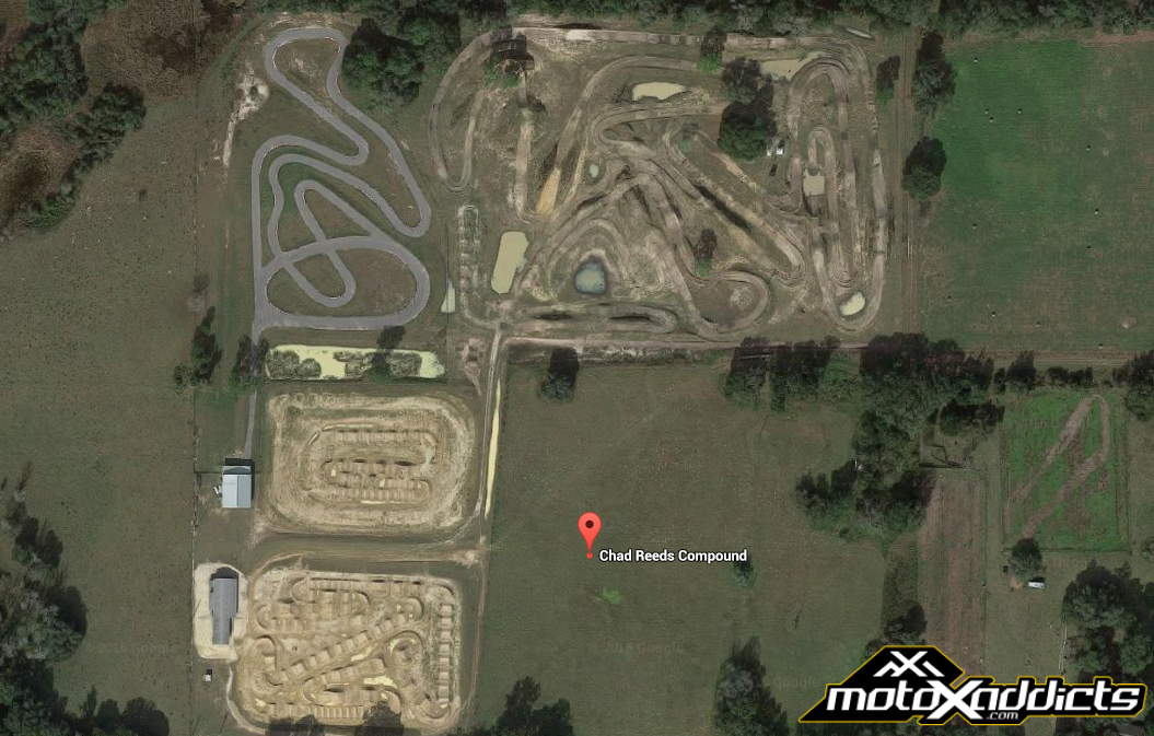 Motoxaddicts Chad Reed Selling His Private Sx And Mx Training Compound