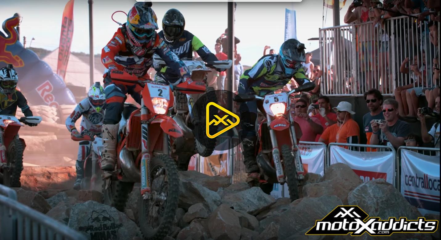 Hard Enduro Racing in Super Slow Motion