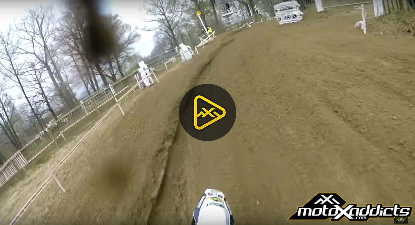 Helmet Cam: Steven Clarke – -British MX Championships, Canada Heights