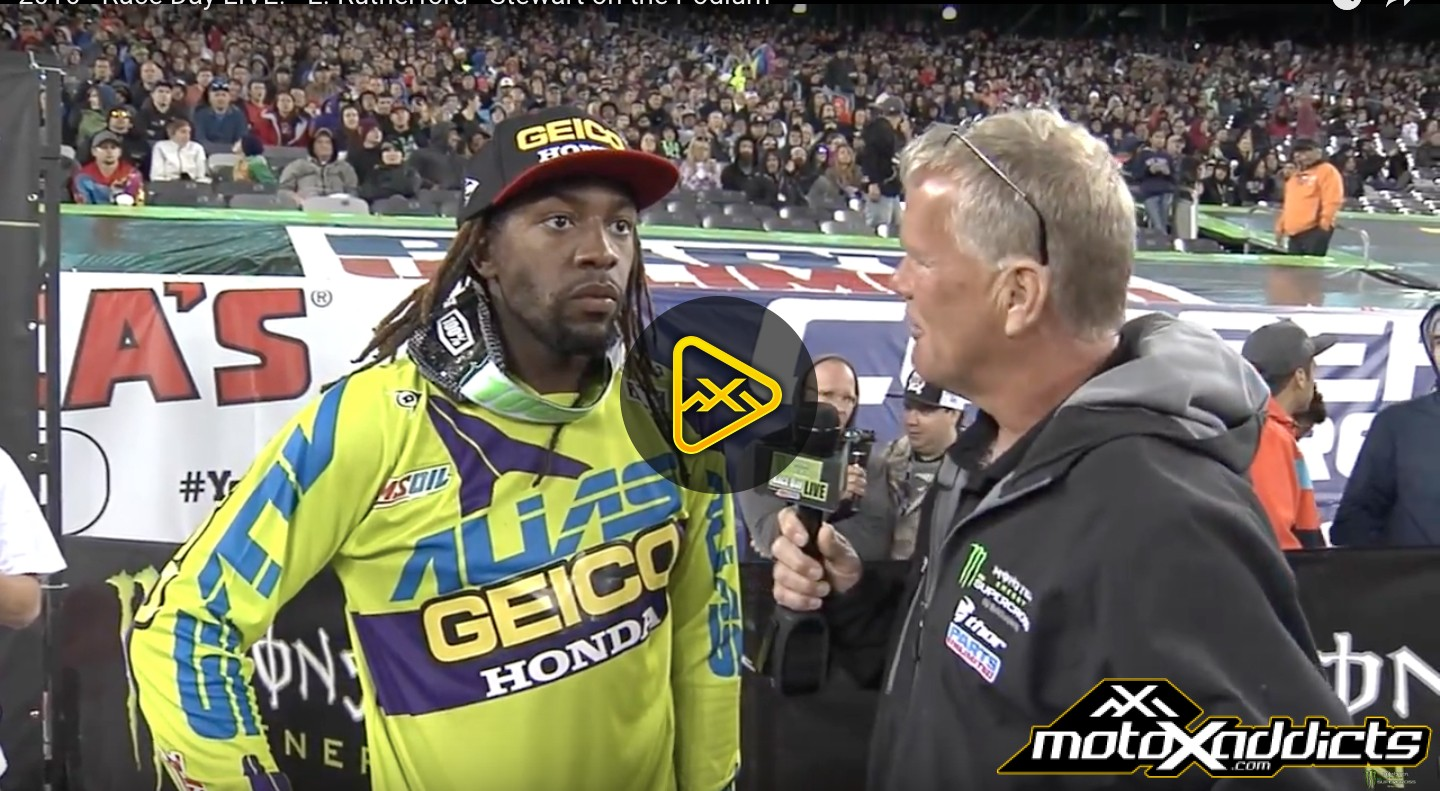 250SX Podium Interviews – 2016 East Rutherford SX