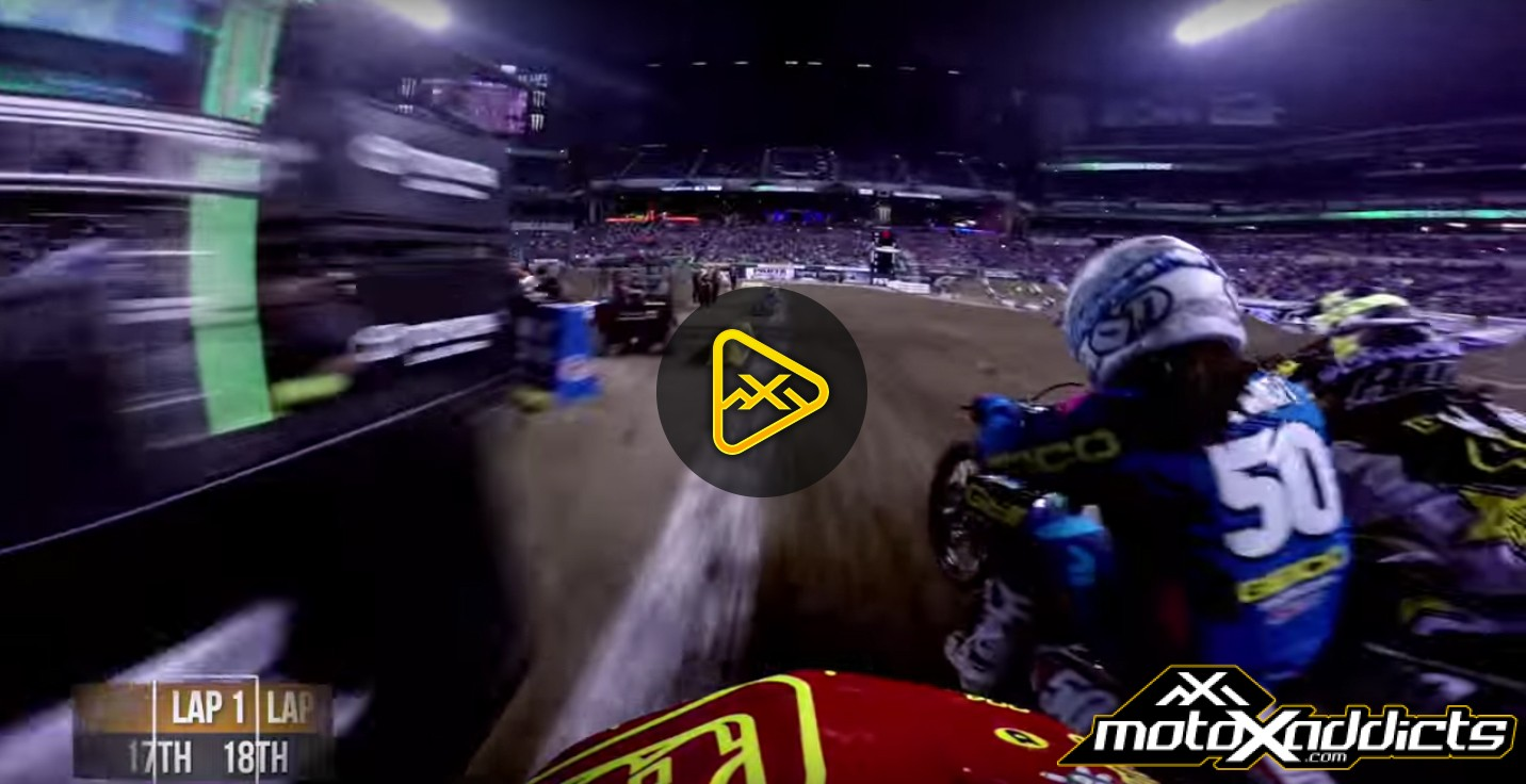 Helmet Cam: Alex Frye in 2016 Indianapolis SX Main