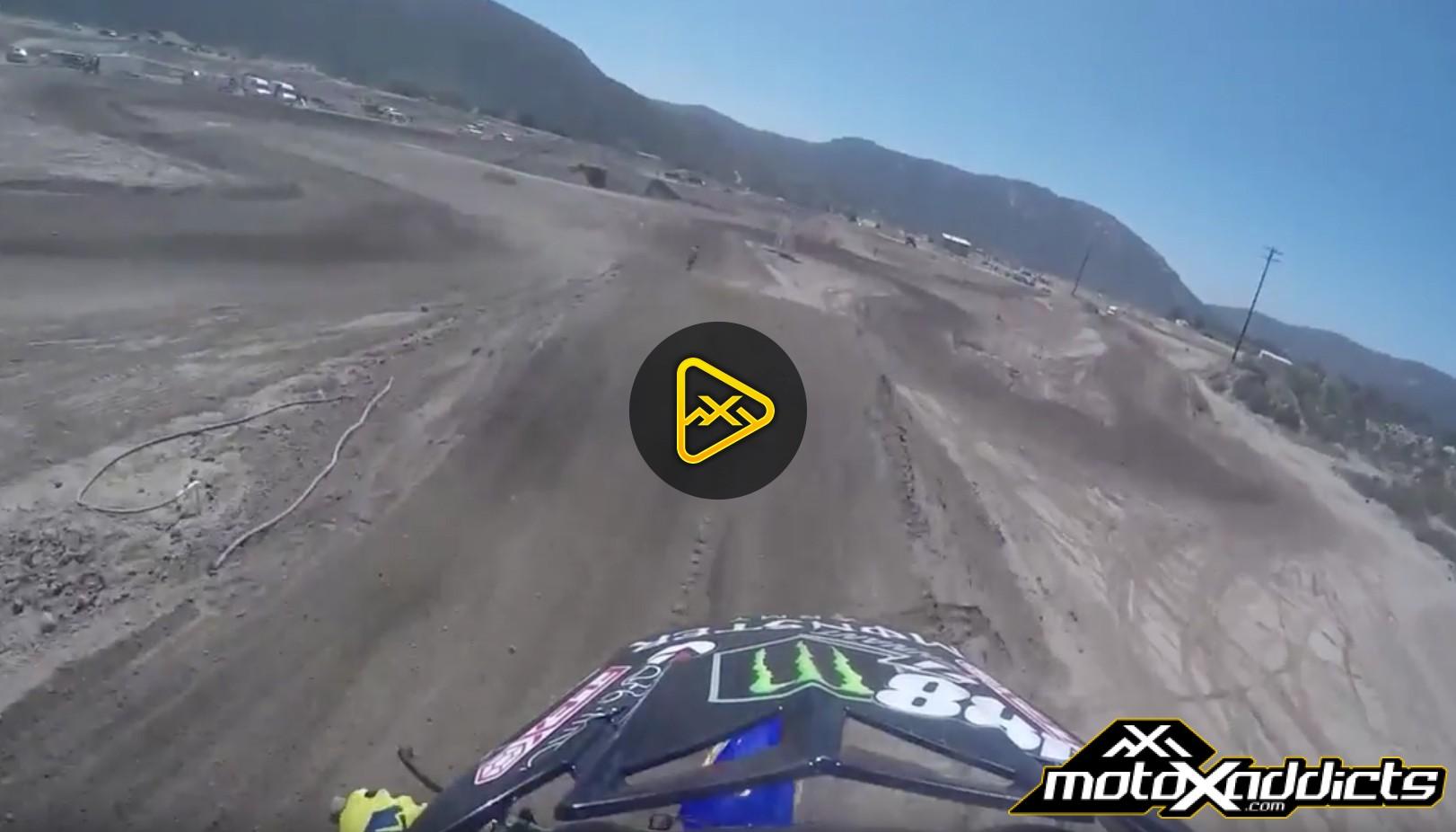 Helmet Cam – Bradley Taft Throwing Down at Pala