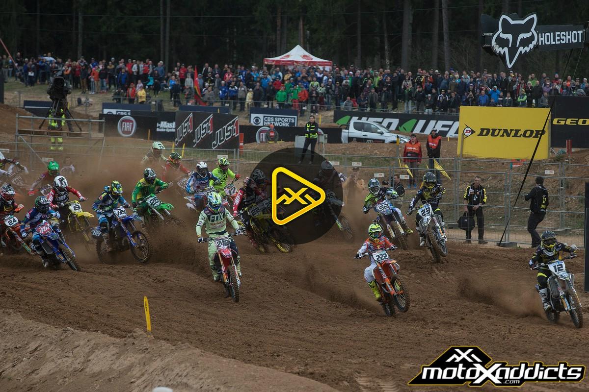 2016 MXGP of Latvia (Kegums) MX2 and MXGP Highlights