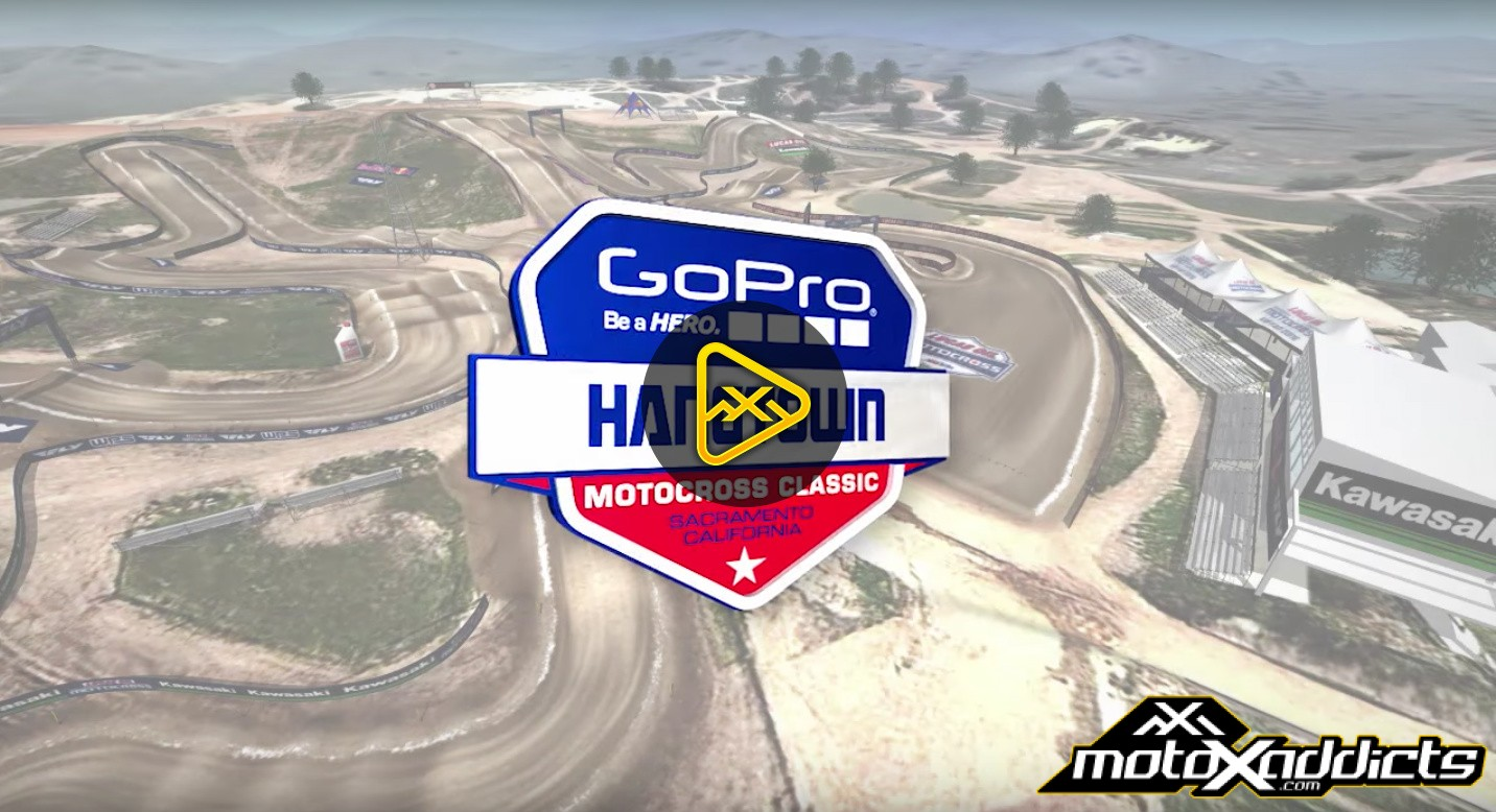 2016 Hangtown National Animated Track Map